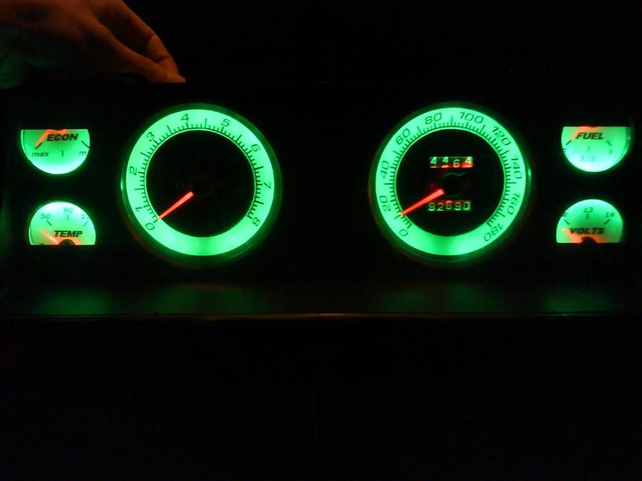 Светодиодная подсветка приборов на ваз 2106 своими руками 80